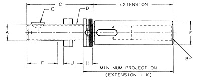 Adjustable Extension Adapter Assembly