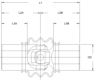 Single Universal Joint Diagram