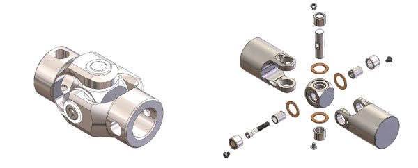 needle bearing u joint. the belden solution now allows customers to have a complete wash-down safe universal joint, while eliminating corrosion issues and contamination, burnout, needle bearing u joint t